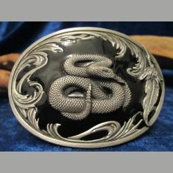 Gürtelschnalle Schlange