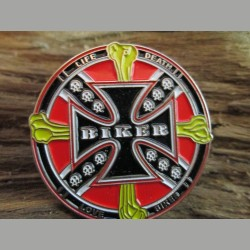 "Pin"" Eisernes Kreuz"" Biker"