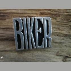 """Pin """" BIKER """""""