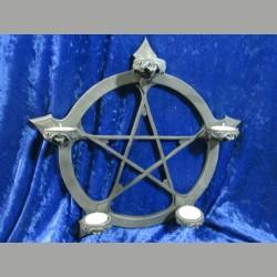 pentagramm teelichthalter wand odinskrieger. Black Bedroom Furniture Sets. Home Design Ideas
