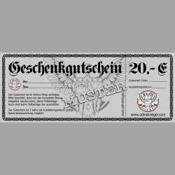 Gutschein 20,00 €