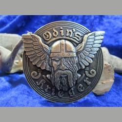Gürtelschnalle Odin's Krieger Messing farbend