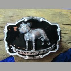 Gürtelschnalle Staffordshire Bull Terrier